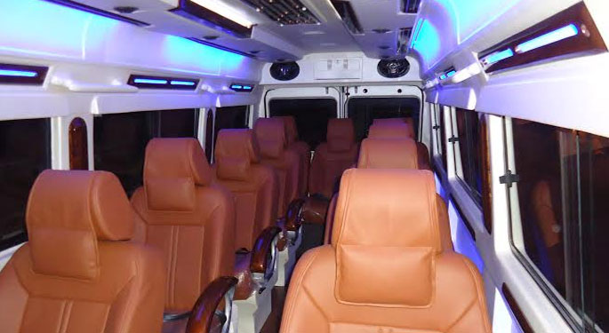 Tempo Traveller 10 Seater
